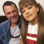 Ariana Grande with her father Edward Butera