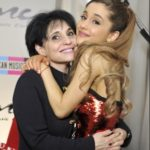 Ariana Grande with her mother Joan Grande
