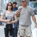 Ashley Greene with her father Joe Greene