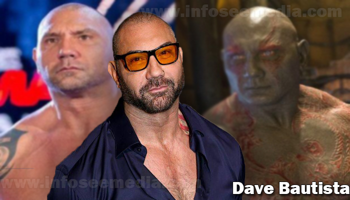 Dave Bautista height weight age