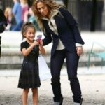Jennifer Lopez with her daughter Emme