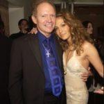 Jennifer Lopez with her father David Lopez