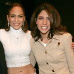 Jennifer Lopez with her sister Lynda Lopez