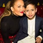 Jennifer Lopez with her son Maximilian