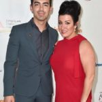 Joe Jonas with his mother Denise Jonas