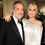 Lady Gaga with her father Joseph Germanotta
