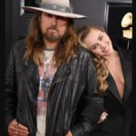 Miley Cyrus with her father Billy Ray Cyrus