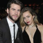 Miley Cyrus with her husband Liam Hemsworth
