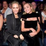 Miley Cyrus with her mother Tish Finley Cyrus