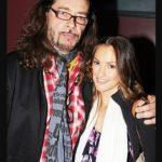 Minka kelly with her Rockstar father Rick Dufay