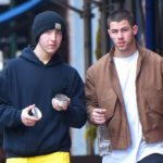 Nick Jonas with his brother Frankie Jonas