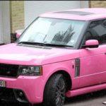 Nicki Minaj car collection - Range Rover
