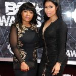 Nicki Minaj with her mother Carol Maraj