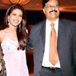 Priyanka Chopra with her dad Ashok Chopra