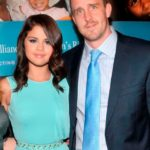 Selena Gomez with her step father Brian Teefey