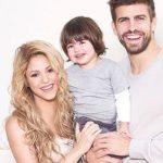 Shakira with his partner and son Sasha