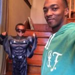 anthony mackie and his children image