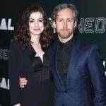 Anne Hathaway with her husband Adam Shulman image