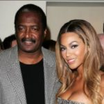 Beonce with her father Mathew Knowles
