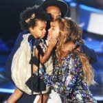 Beyonce and Jay-Z with daughter Blue Ivy Carter