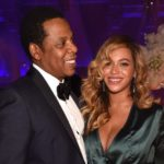 Beyonce with her husband Jay-Z