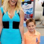 Britney Spears with her son Jayden James Federline