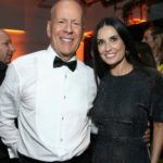 Bruce Willis with former wife Demi Moore