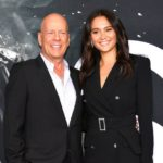 Bruce Willis with his wife Emma Heming