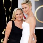 Charlize Theron with her mother Gerda Maritz