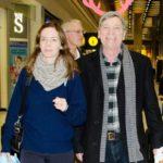 Emily Blunt with her father Oliver Simon Peter Blunt