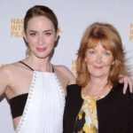 Emily Blunt with her mother Joanna Blunt
