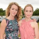 Emily Blunt with her sister Suzanna Blunt