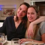 Gal Gadot with her younger sister Dana gatot