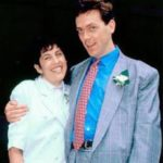 Hugh Laurie with his wife Joanne Green