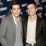 Jake Gyllenhaal with his father Stephen Gyllenhaal
