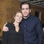 Jake Gyllenhaal with his mother Naomi Foner