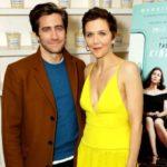 Jake Gyllenhaal with his sister Maggie Gyllenhaal