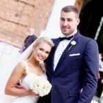 Jonas Valanciunas with his wife Egle Valanciunas marriage pics
