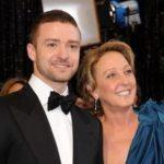 Justin Timberlake with his mother Lynn (Bomar) Harless