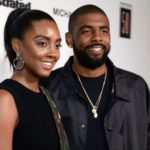 Kyrie Irving with her sister Asia Irving