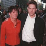 Mark Wahlberg with his mother Alma