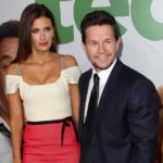 Mark Wahlberg with his wife Rhea Durham