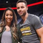 Stephen Curry with his sister Sydel Curry