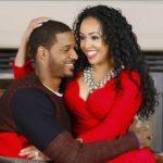 Trevor Ariza with his wife Bree Anderson