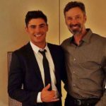 Zac Efron with his father David Efron