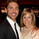 Zac Efron with his mother Starla Baskett