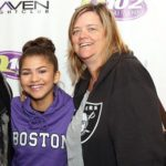 Zendaya with her mother Claire Stoermer
