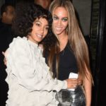 beyonce with her younger sister Solange Knowles