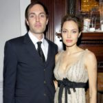 Angelina Jolie with brother James Haven