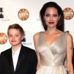 Angelina Jolie with daughter Shiloh Nouvel